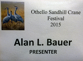 Othello Sandhill Crane featured speaker